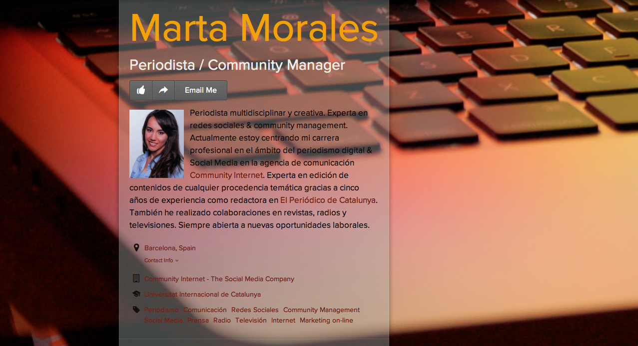 about.me marta morales castillo periodista community manager social media manager