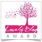 Mi primer reconocimiento bloguero: One Lovely Blog Award. ¡Gracias!