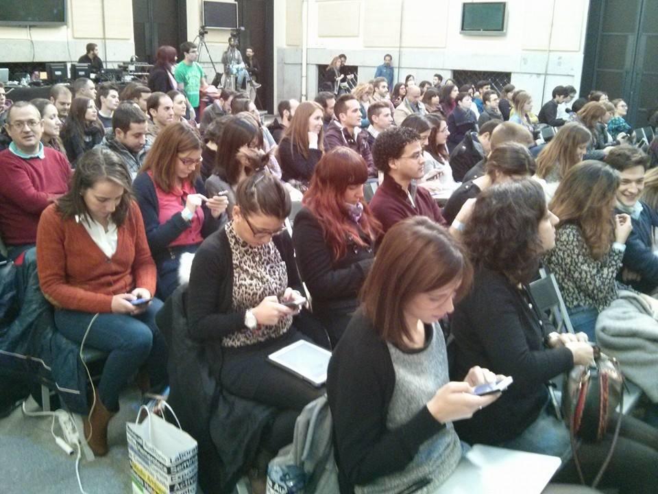 asistentes a Interqué 2013, evento sobre internet y social media en Madrid. Marta Morales Castillo, periodista community manager experta en redes sociales