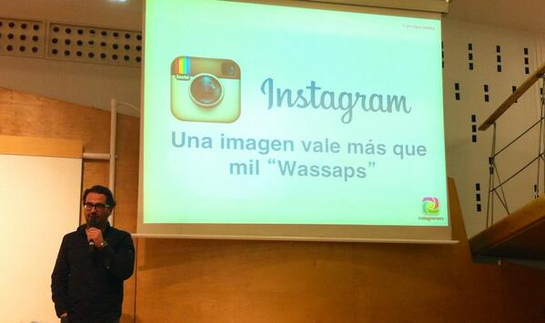 Phil Gonzalez Instagram Social Media Marketing Day SMMDAY Madrid Marta Morales Castillo periodista community manager blog curiosidades de social media