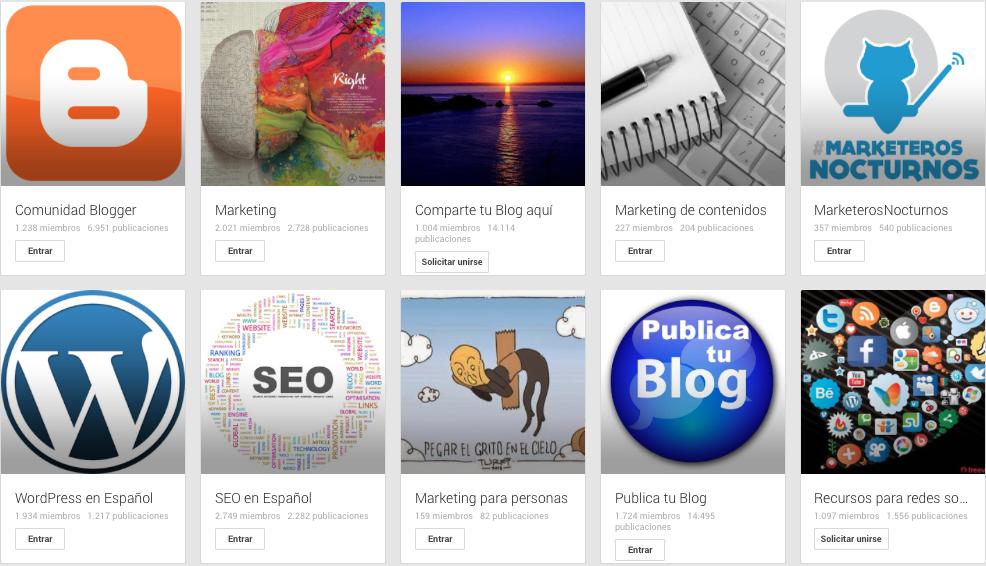 comunidades google plus blog curiosidades social media marta morales blog redes sociales