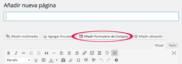 como crear una pagina de formulario de contacto en un blog marta morales castillo periodista community manager blog curiosidades social media