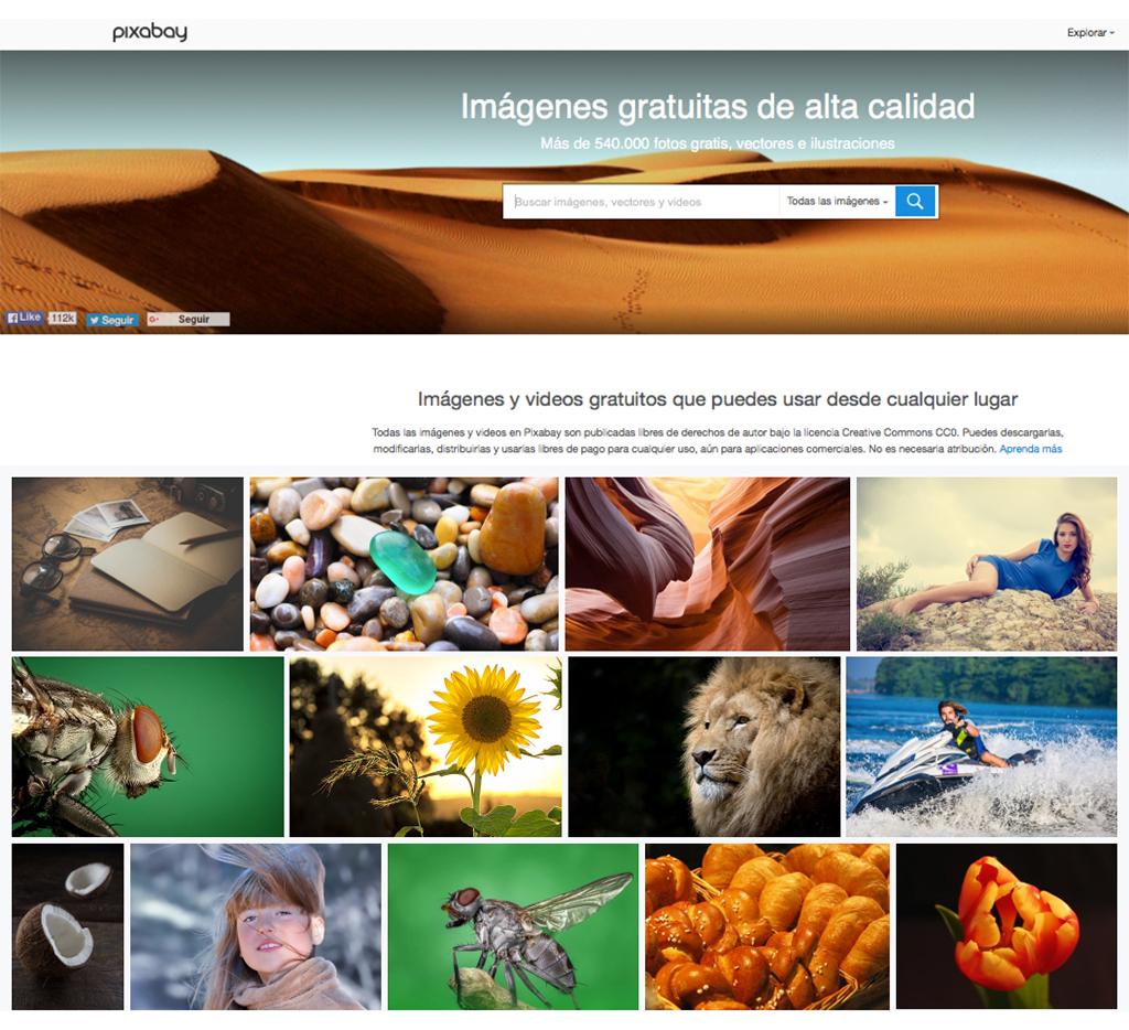 pixabay fotos gratuitas marta morales castillo blog curiosidades de social media periodista community manager